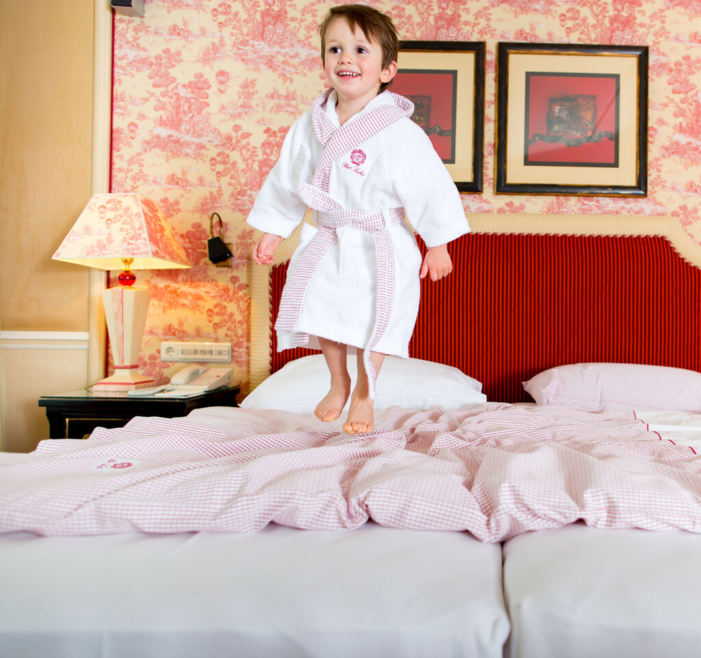 Children Fun in the Hotel Sacher Vienna