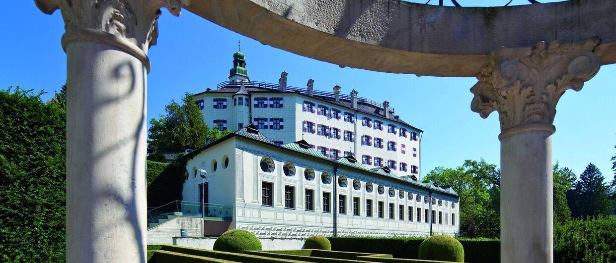 Ambras Castle in Innsbruck