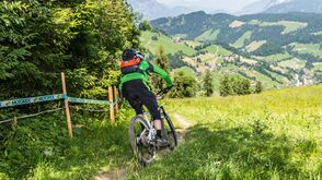 Mountainbike Enduro Trail Niederau