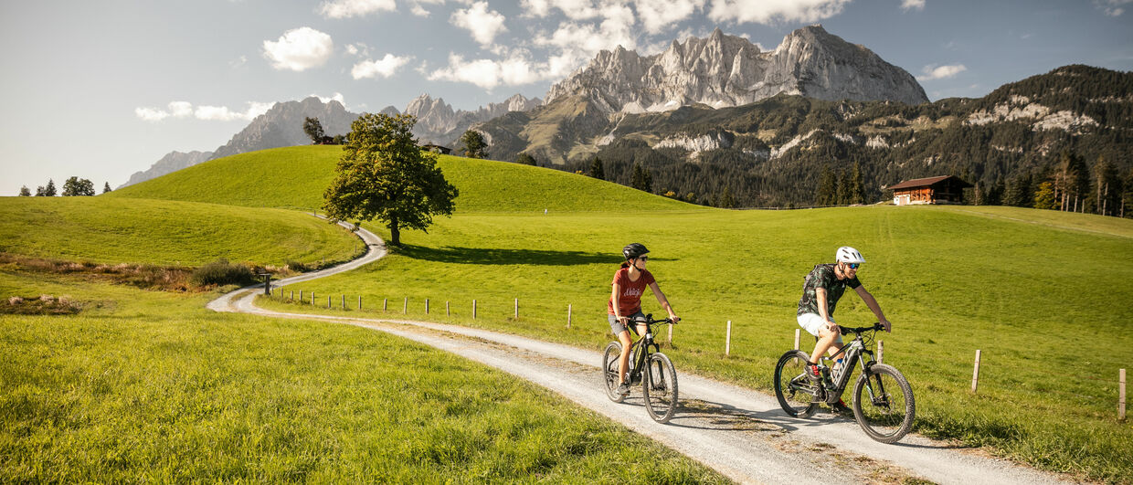 Biking in St. Johann in Tirol