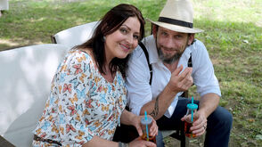 "Mike und Claudia Shane, auch bekannt als ""Mike & the muse"""