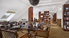 The Club Lounge in the Ritz Carlton Vienna