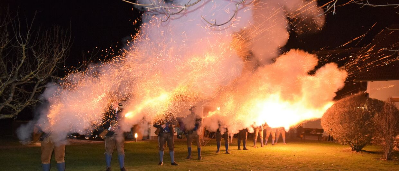 Традиция праздничных стрелков в Верхней Австрии