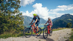 Auf Mountainbike-Tour in der Region Achensee