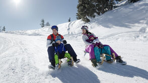 Familie Rodeln Schladming