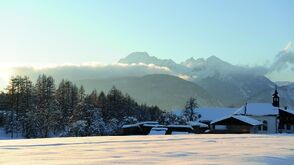Winterlandschaft am Sonnenplateau