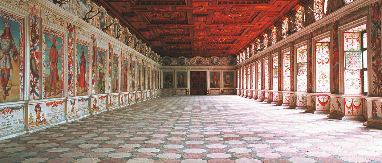 Spanish Hall in Ambras Castle