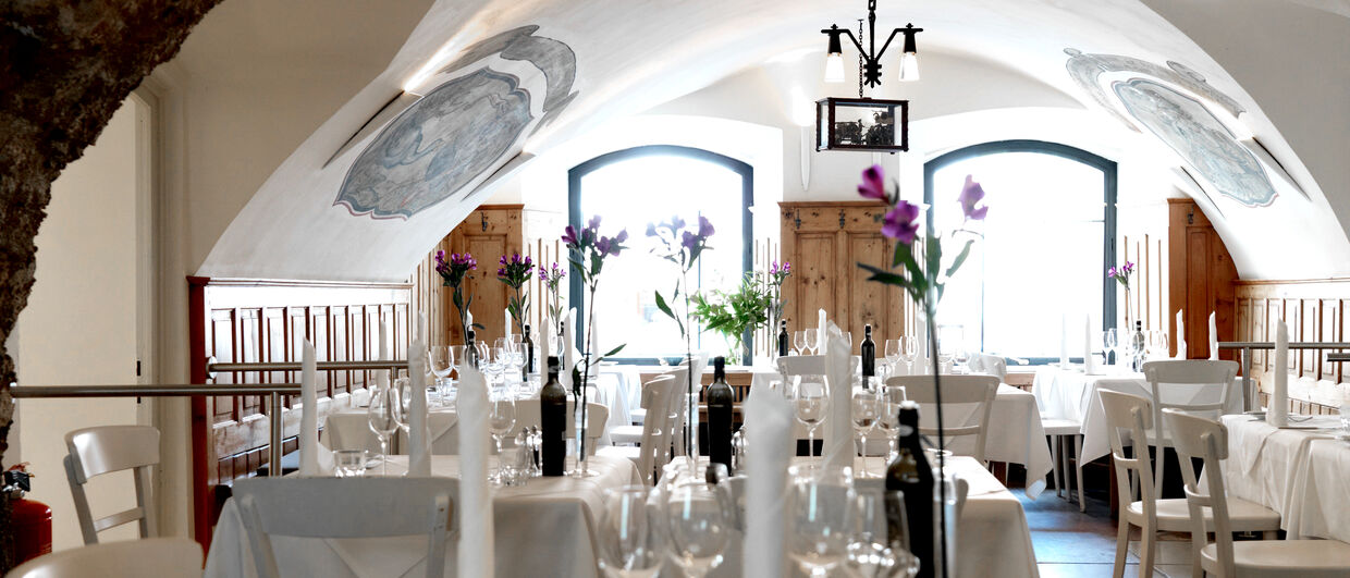 Restaurant in the artHotel Blaue Gans