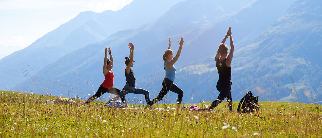 Mountain Yoga Festival in St. Anton am Arlberg